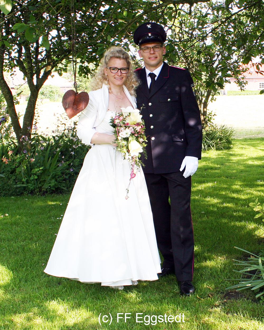 Freiwillige Feuerwehr Eggstedt Hochzeit Sabrina Robert